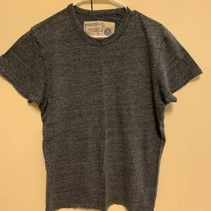 Franklin & Marshall Blue/Grey S.S. Tee-Shirt Large